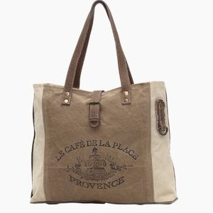 Last 1 Restocked 🌟 Amazing CANVAS TOTE BAG NWT